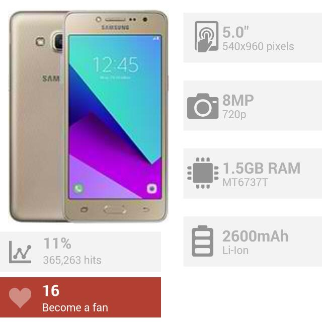 Samsung Grand Prime Plus