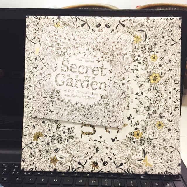 Secret Garden Coloring Book Books Stationery On Carousell