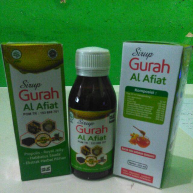Sirup Gurah/Madu Hutan 125ml