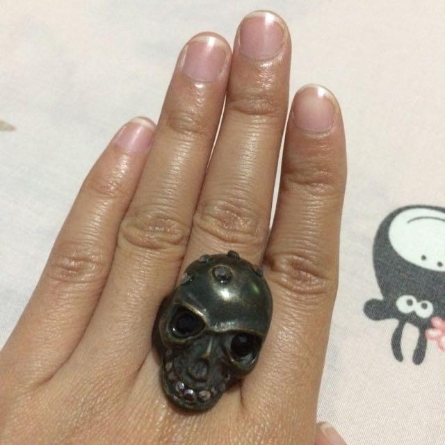 Skull Statement Ring // Cincin Tengkorak