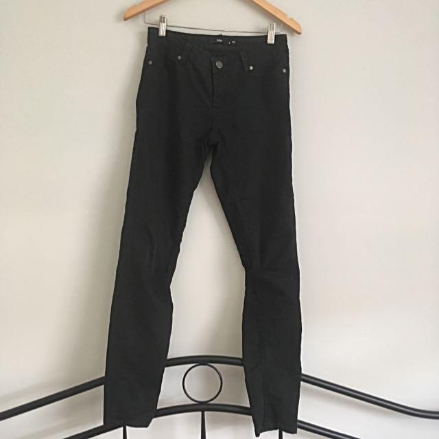Sports girl Black Jeans Size 8
