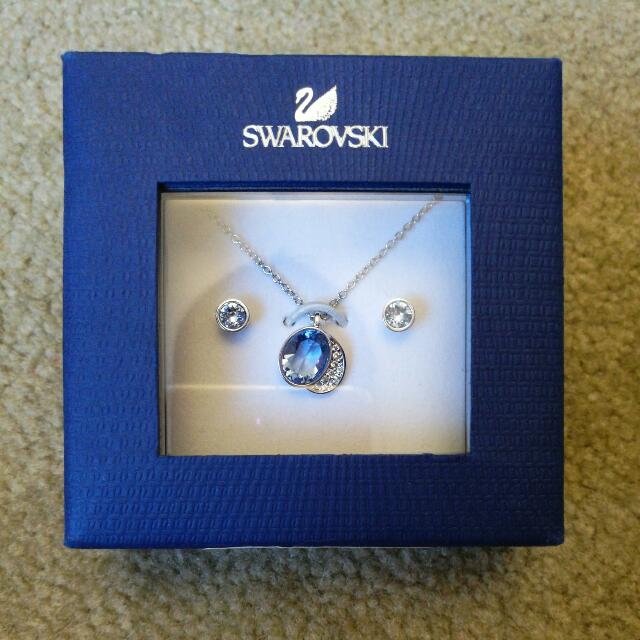 Swarovski SS Gloria Set (Blue)