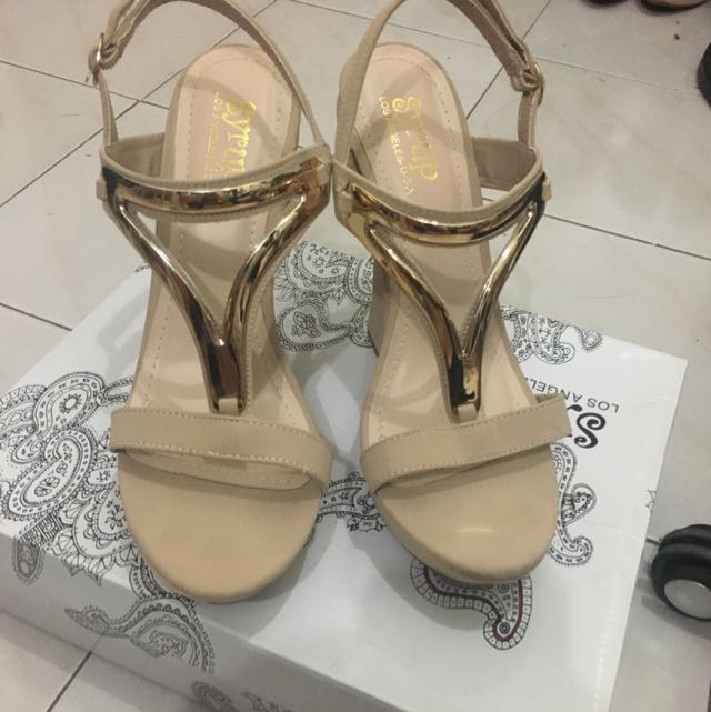 Syrup Wedge Sandals