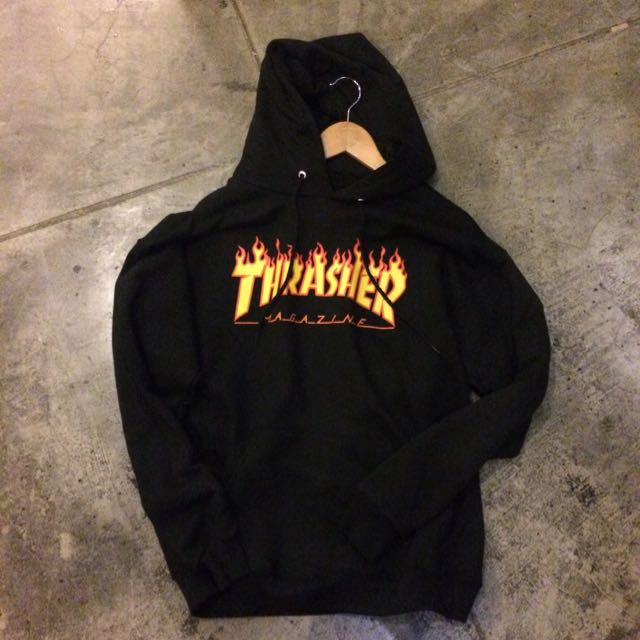 THRASHER FLAME 火焰帽t/hoodie