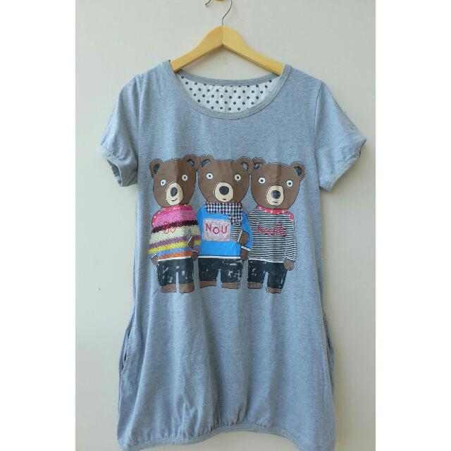 Three Teddy Bear Dress