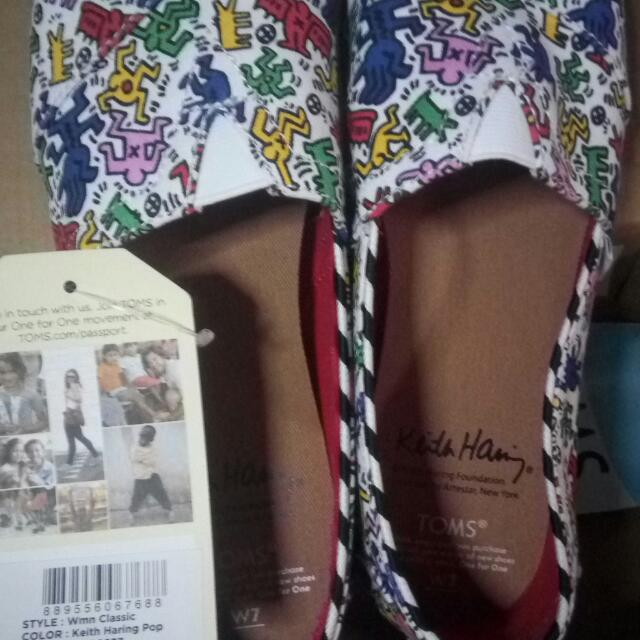 Toms Keith Haring US Size 7