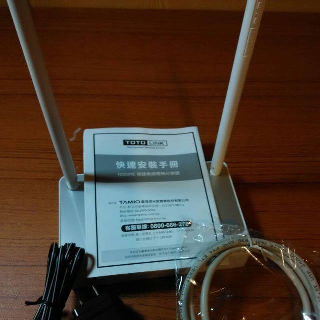 (福利品)TOTOLINK N200RE 極速無線寬頻分享器 路由器