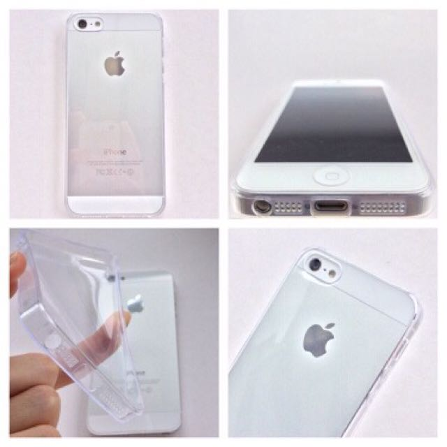 Ultrathin Jelly Bening iPhone 5/5S