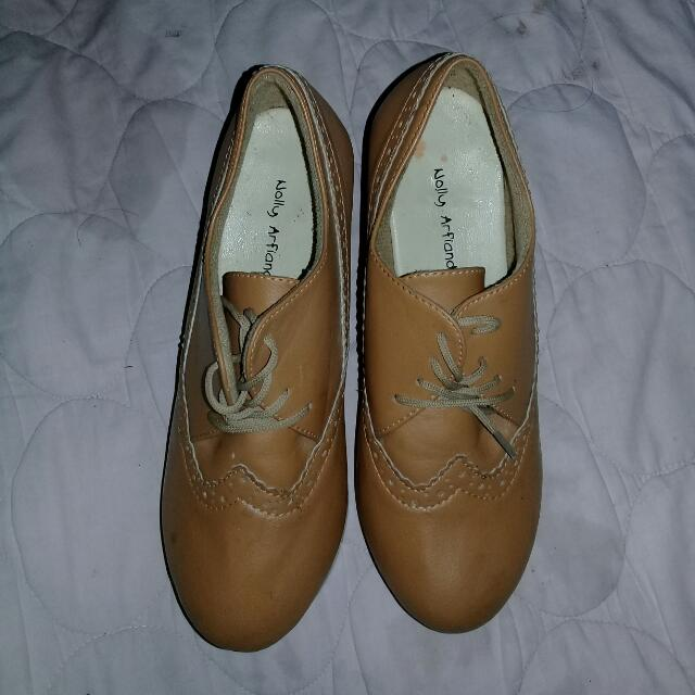 Wedges Boots Turun Harga