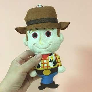 Disney 玩具總動員-胡迪 吊飾/卡夾