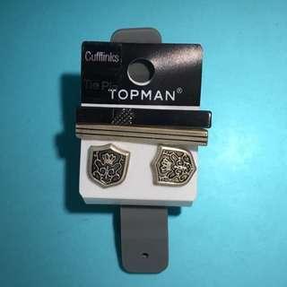 Topman Cufflinks & Tie Pin