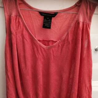 French Connection Coral Sz S Top
