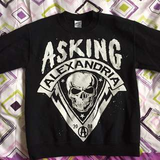 *reduced* asking alexandria crewneck