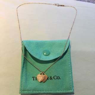 Tiffany Small Heart Necklace