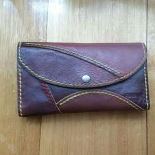 Leather Wallet From Thailand