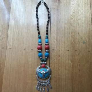 Rams Head Necklace