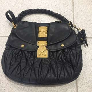 Authentic Miu Miu Lambskin