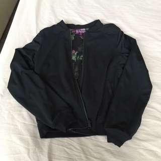 Lululemon reversible bomber jacket size 4