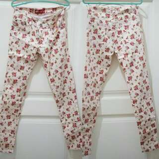 Floral Jeans by ADA