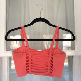 Cage Back Bralette From Garage