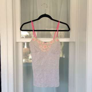 American Eagle Embroidered Cami