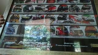 Signed 2012 V8 Supercars Championships poster
