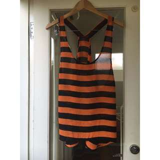 Maurie & Eve Oversized Racerback Top Size 1