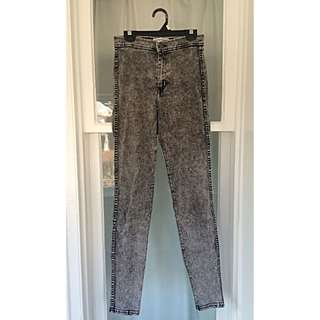 American Apparel Acid Wash Jeans