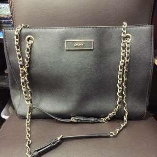 DKNY Black Saffiano Handbag