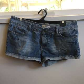 Temt Denim Cutoff Shorts