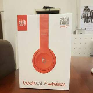Beats Solo3 Wireless Headphone (BNIB)
