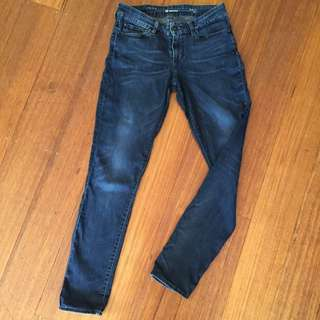 Levi Modern Rise Skinny Jeans