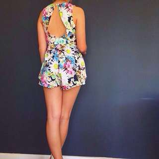 Floral Summery Playsuit