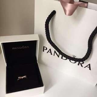 Pandora Rose Bow Ring