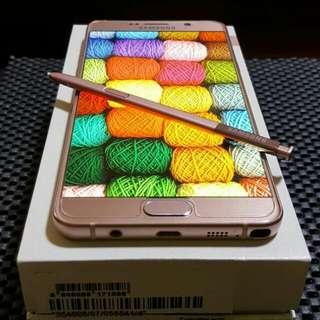Samsung Galaxy Note 5 (Gold Rose)