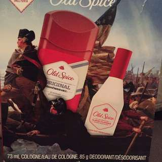 New Old Spice Set