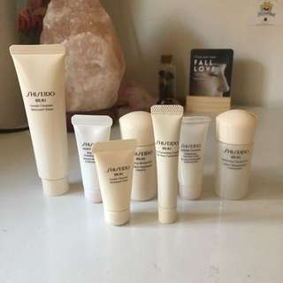 Shiseido Ibuki Skin Care Items