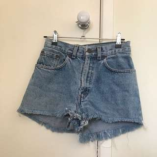 Levi Vintage Highwasted Denim Shorts