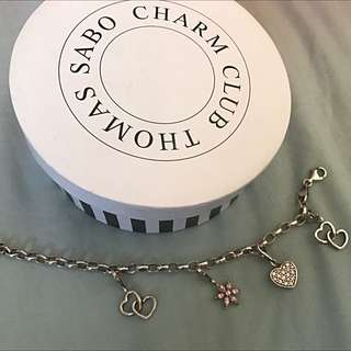 Thomas Sabo Charm Bracelet With 4 Charms