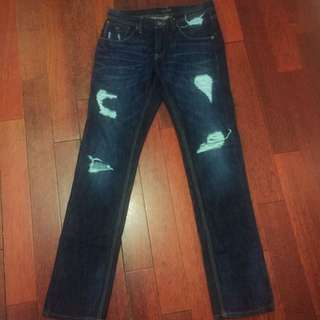 Guess Slim Fit Ripped Jeans
