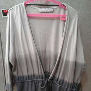 Authentic Ombre Zara Coverup/Cardigan