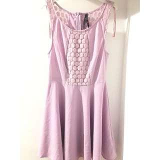 ALLY Lilac Purple Skater Dress [Size 10]
