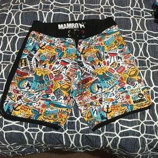 Mambo Limited Ed Kirks Boardies Size 32
