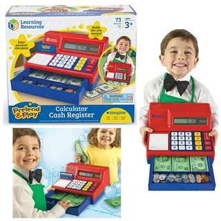 BNIB: Learning Resources Pretend & Play Calculator Cash Register