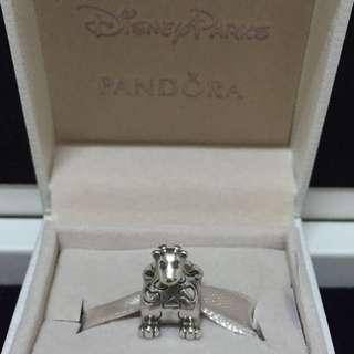 Pandora 純銀限量絕版串飾 神獸「勤奮不懈的蜜蜂 有遠見的長頸鹿 有執行力的獅子」