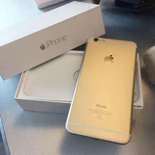 iPhone 6 Plus 16G 金色