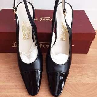 vintage unworn salvatore ferragamo heels