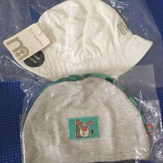 Brand New mothercare Baby Hat Bundle 0-3 Months