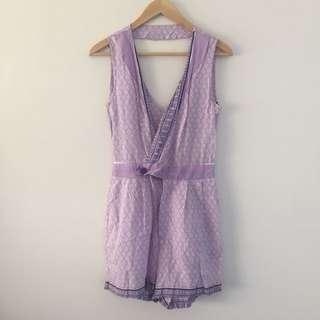 Lavender Playsuit