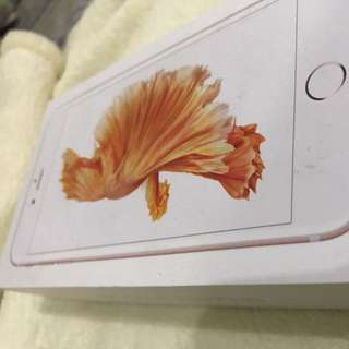 *代售   APPLE IPHONE 6s Plus 64G 玫瑰金